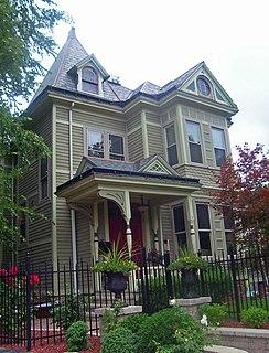 Building at 73 Mansion Street building