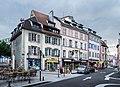 Buildings at Place de la Grande Fontaine in Belfort.jpg