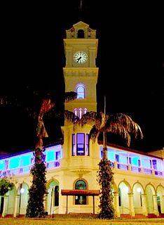 Bundaberg Post Office historic commonwealth heritage site in Bundaberg QLD
