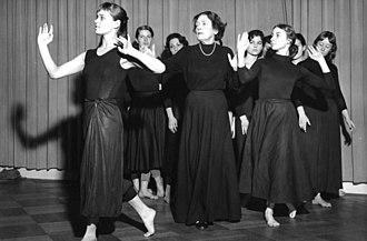 Mary Wigman - Mary Wigman studio, West Berlin