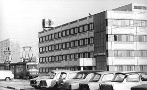 Halle-Neustadt - Halle-Silberhöhe Poliklinik.