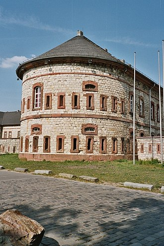 Fortresses of the German Confederation - The Bundesfestung redoubt in Mainz