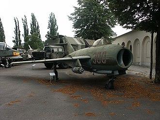 PZL-Mielec Lim-6 - Lim-6bis in East German markings