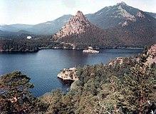 Il Parco Nazionale di Burabay nella regione di Aqmola.