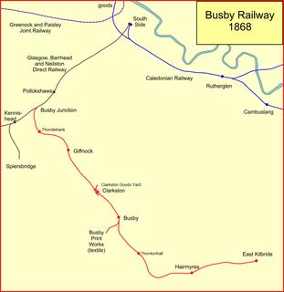 Busby Railway