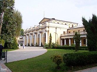Gwendolyn Bradley - Sanatorium Marconi in Busko-Zdrój
