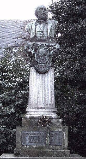 Oberkassel, Bonn - Gottfried Kinkel memorial