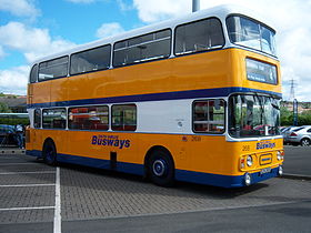 Busways bus 268 Leyland Atlantean SCN 268S Metrocentre rally 2009 pic 1.JPG