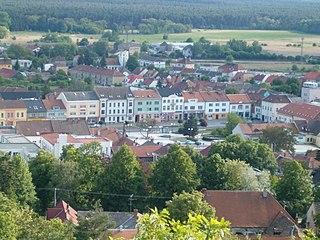Bzenec Town in South Moravian, Czech Republic