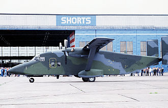 Short C-23 Sherpa - The first C-23A for U.S. Air Force during its official rollout ceremony