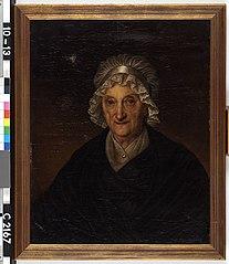 Eva Alexandrina Wentholt (1740-1820). Echtgenote van Arnold Jacob Weerts