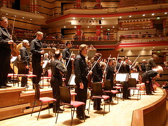 City of Birmingham Symphony Orchestra - The City of Birmingham Symphony Orchestra at Symphony Hall, Birmingham