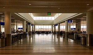 Charleston International Airport - Interior of Concourse A