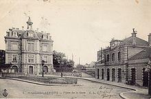 Gare de maisons laffitte wikimonde - Le cosy maisons laffitte ...