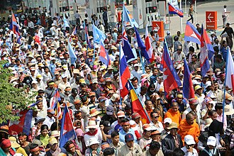 Hun Sen - Protesters against Hun Sen's dictatorship in Cambodia.