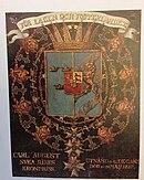 COA Knight of the Order of the Seraphim for Carl August of Schleswig-Holstein-Sonderberg-Augustenburg.jpg