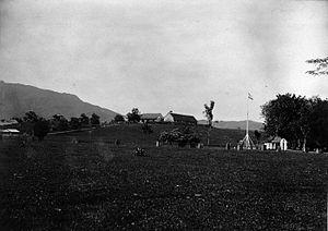 Batusangkar - Fort van der Capellen 1822-1826