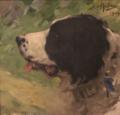 Cabeça de Cão, Kaiser (1904) - José Malhoa (Casa dos Patudos - Museu de Alpiarça).png