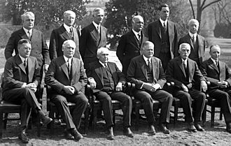 Presidency of Herbert Hoover - Hoover's cabinet.
