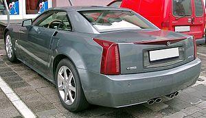 Cadillac XLR - Rear view