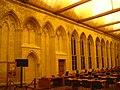 Caen abbayeauxhommes salledesgardes interieur mur est.JPG