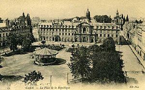 Musée des Beaux-Arts de Caen - The old Eudist seminary.