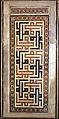 Cairo, madrasa del sultano qalaun, mausoleo, interno, intarsi 04.JPG