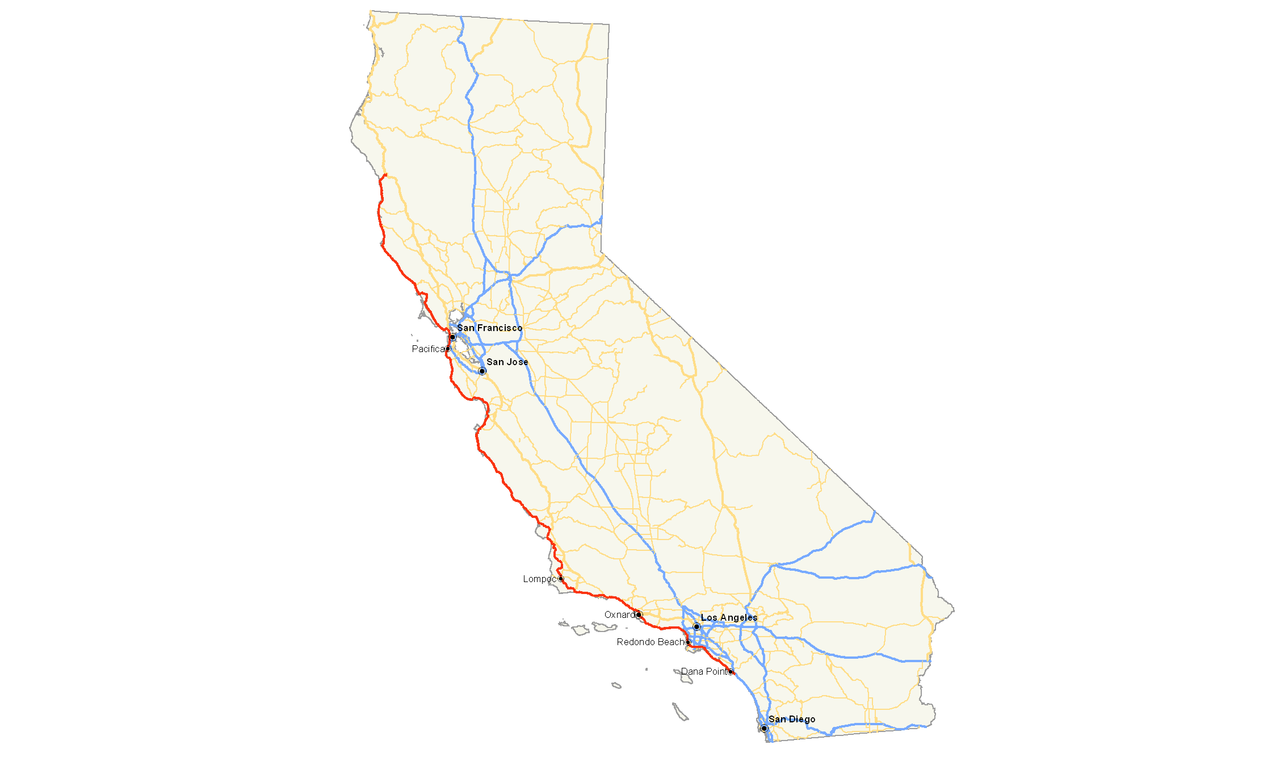Datei:California State Route 1 map.png – Wikipedia on