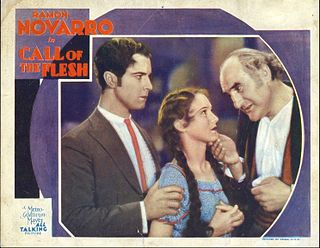 <i>Call of the Flesh</i> 1930 American Pre-Code musical film directed by Charles Brabin