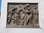 Calvary of Karl I of Austria. Station 2. Jesus carries his cross. - Tihany.JPG