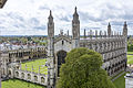 Cambridge - King's College - View from Great St Mary.jpg