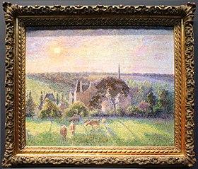Landscape at Eragny 1897