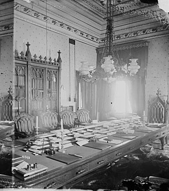Queen's Privy Council for Canada - The Privy Council Office as it appeared in the 1880s