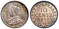 Canada Newfoundland George V 10 Cents 1912.jpg