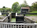 Canal Lock, Bettws Lane, Newport - geograph.org.uk - 1571673.jpg