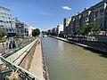Canal Ourcq vu depuis Pont Avenue Général Leclerc Pantin 1.jpg