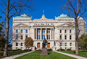 Richard W. Thompson (journalist) - Indiana State House, built in 1888