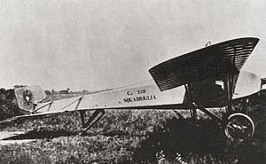 Caproni Ca.18 - Caproni Ca.18 side view