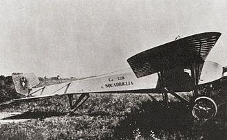 Caproni Ca.18 - Caproni Ca.18 side view