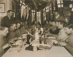 Captain Scott's Birthday Dinner, 6 June 1911 by Herbert George Ponting.jpg