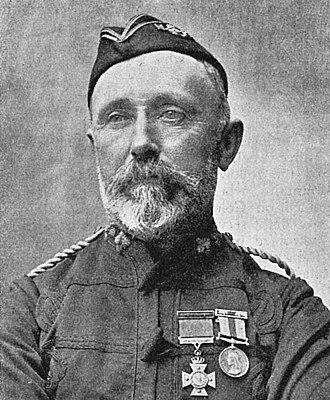 New Zealand Cross (1869) - Captain George Preece