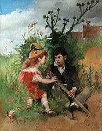 LARSSON Carl Clair-Obscur 1877