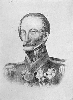 Carlos Frederico Lecor, Viscount of Laguna Brazilian noble and Portuguese military commander