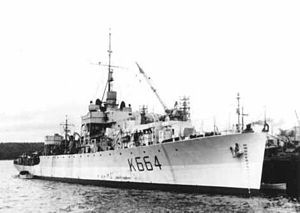 HMCS Carlplace (K664) - Image: Carlplac