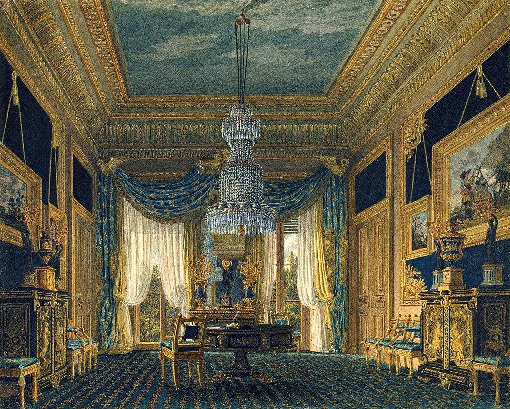 Карлтон - Хаус, Синий Бархатный шкаф, Чарльз Уайлд, 1818- royal coll 922185 257100 ORI 0 0.jpg