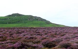 Carnllundain Hill in Wales