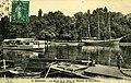 Carte postale - 10 - SURESNES - Les bords de la Seine - le morutier de Terre-Neuve (vue artistique unique) (premier plan - un marinier) - Recto.jpg