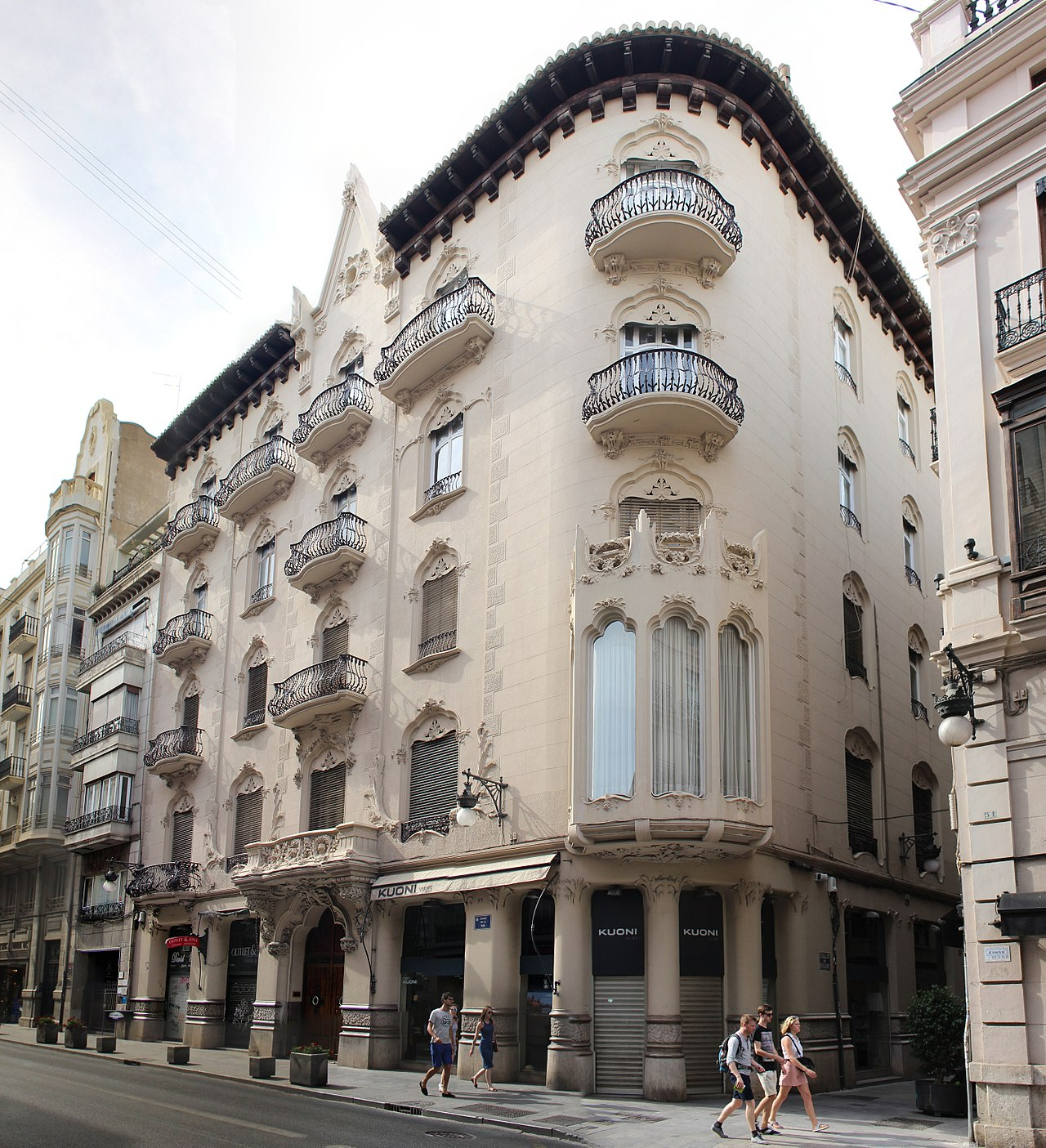 Archivo casa sagnier i wikipedia la - Trabajo arquitecto valencia ...
