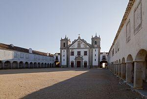 Cabo Espichel - The 15th century Church and Sanctuary of Nossa Senhora do Cabo