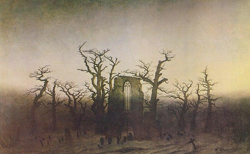 Abtei im Eichwald, C. D. Friedrich